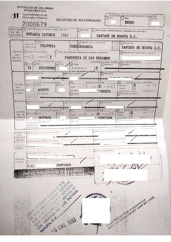 Requisitos Matrimonio Catolico Bogota : Eregulations bogotá